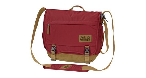 Jack Wolfskin Camden Town Shoulder Bag dark red